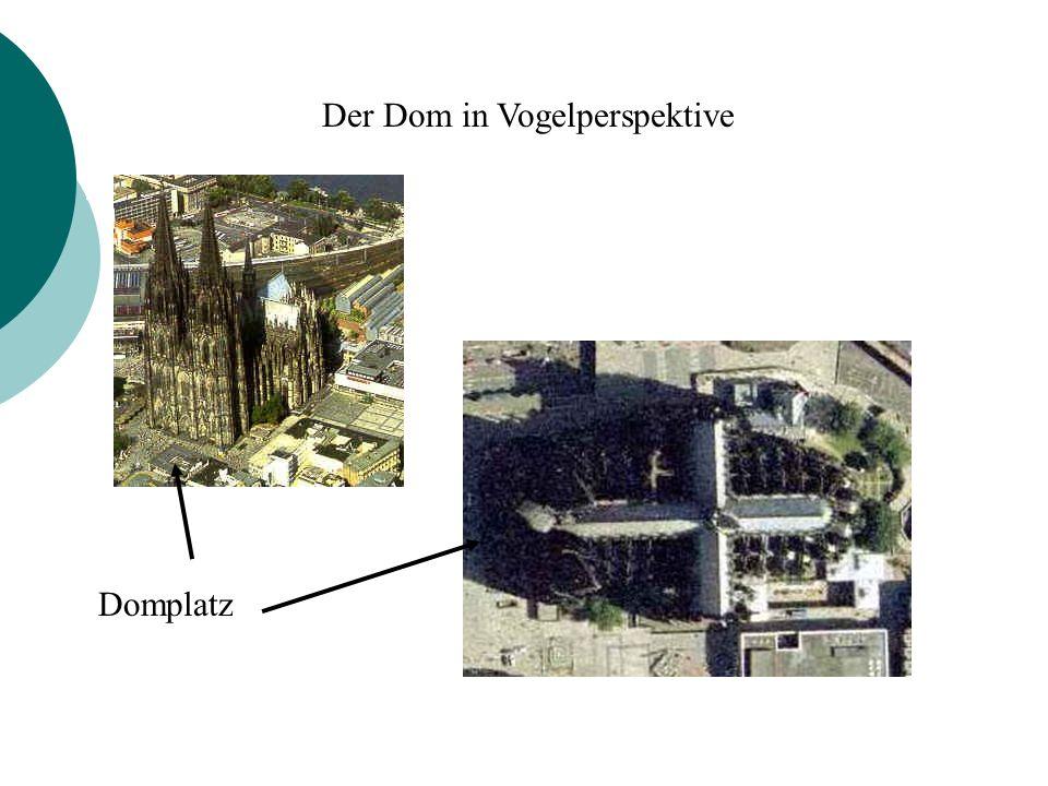 Der Dom in Vogelperspektive
