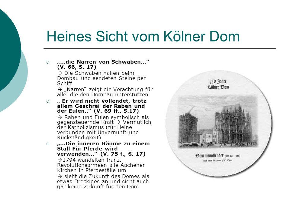 Heines Sicht vom Kölner Dom