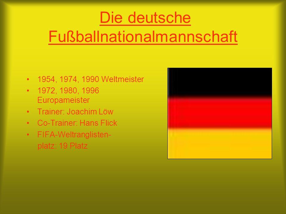 Die deutsche Fußballnationalmannschaft
