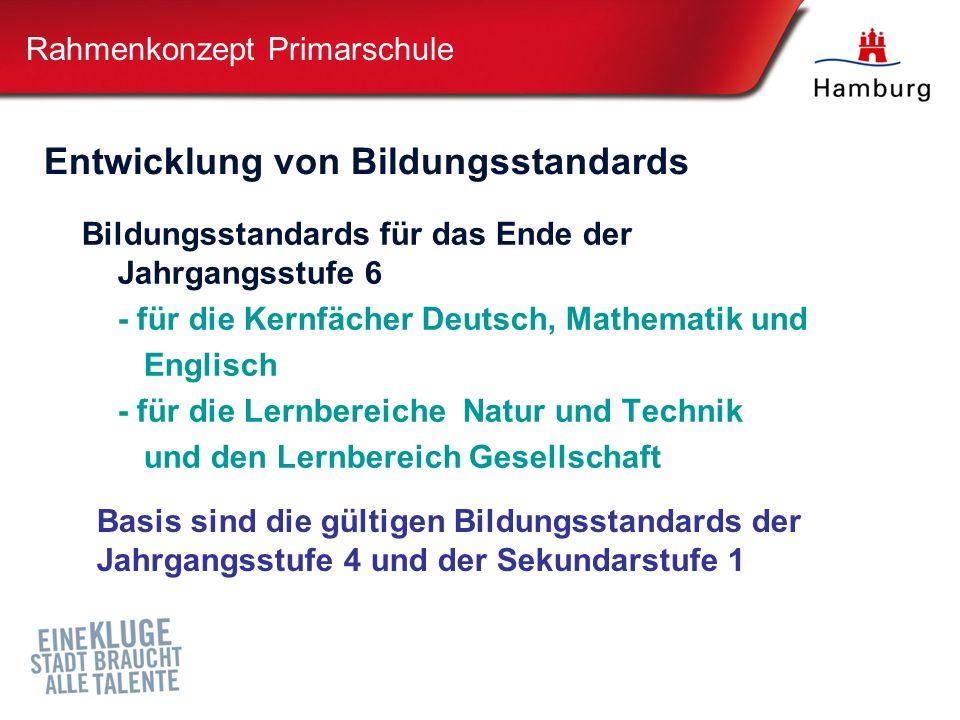 Rahmenkonzept Primarschule