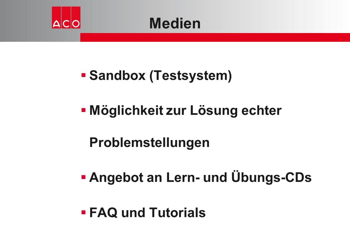 Medien Sandbox (Testsystem)