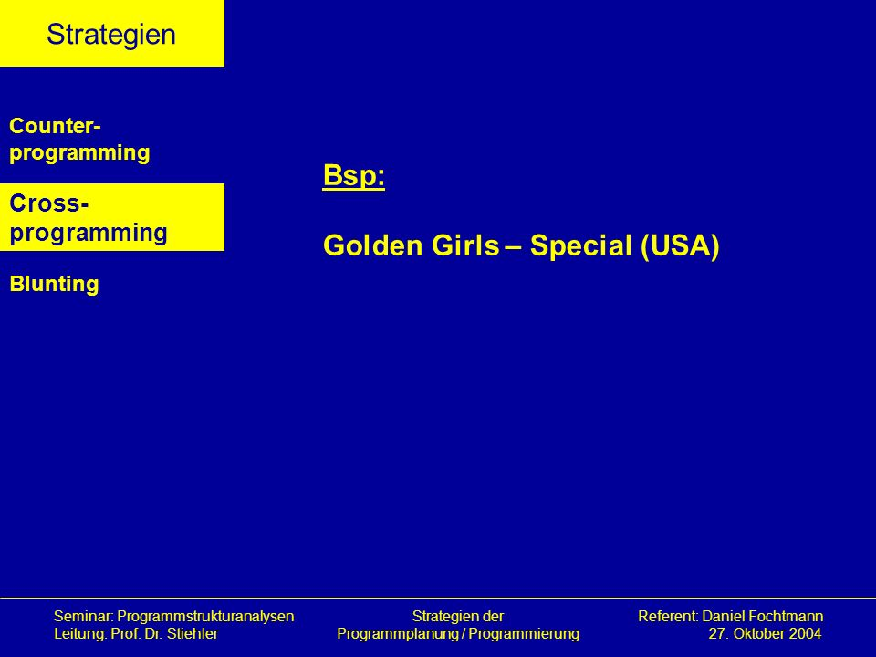 Golden Girls – Special (USA)