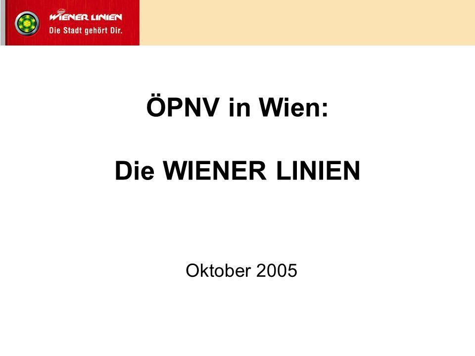 ÖPNV in Wien: Die WIENER LINIEN
