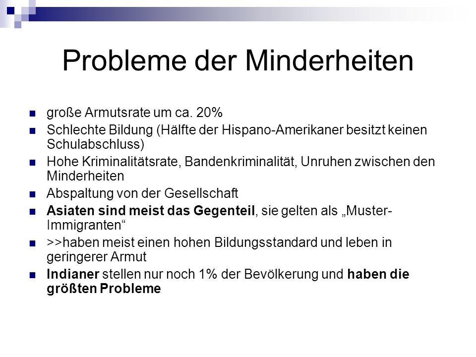 Probleme der Minderheiten