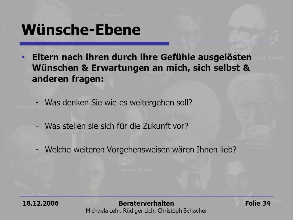 Michaela Lehr, Rüdiger Lich, Christoph Schacher