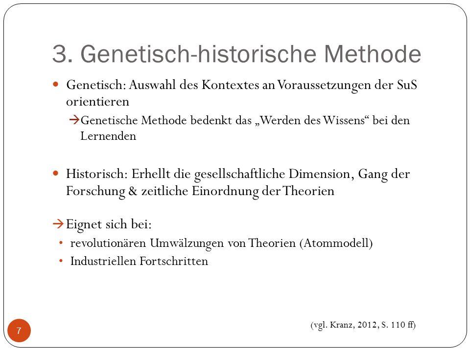 3. Genetisch-historische Methode