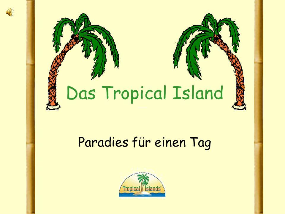 Das Tropical Island Paradies für einen Tag