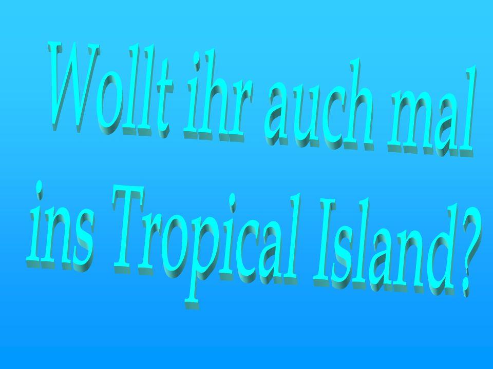 Wollt ihr auch mal ins Tropical Island