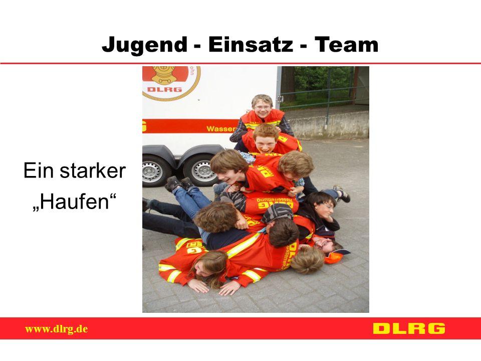 """Jugend - Einsatz - Team Ein starker """"Haufen"""