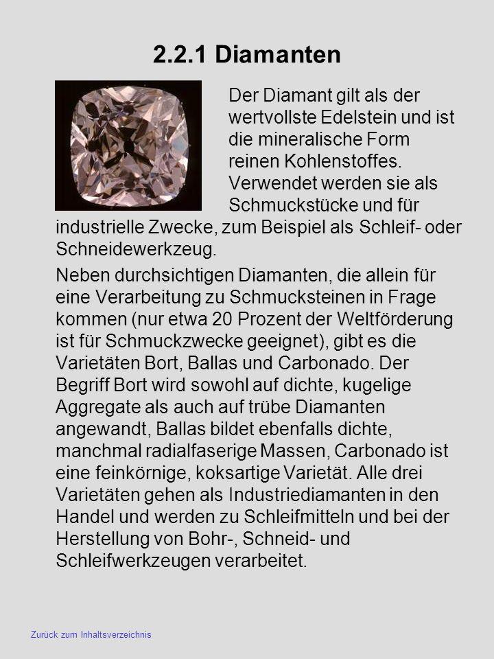 2.2.1 Diamanten