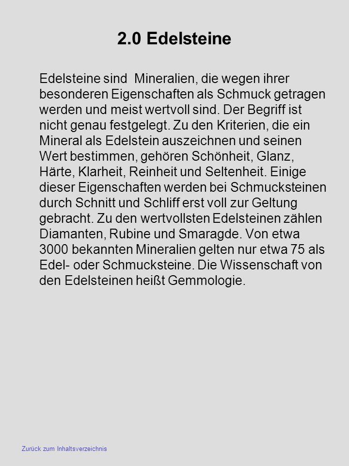 2.0 Edelsteine