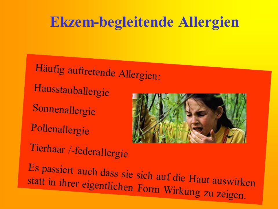 Ekzem-begleitende Allergien