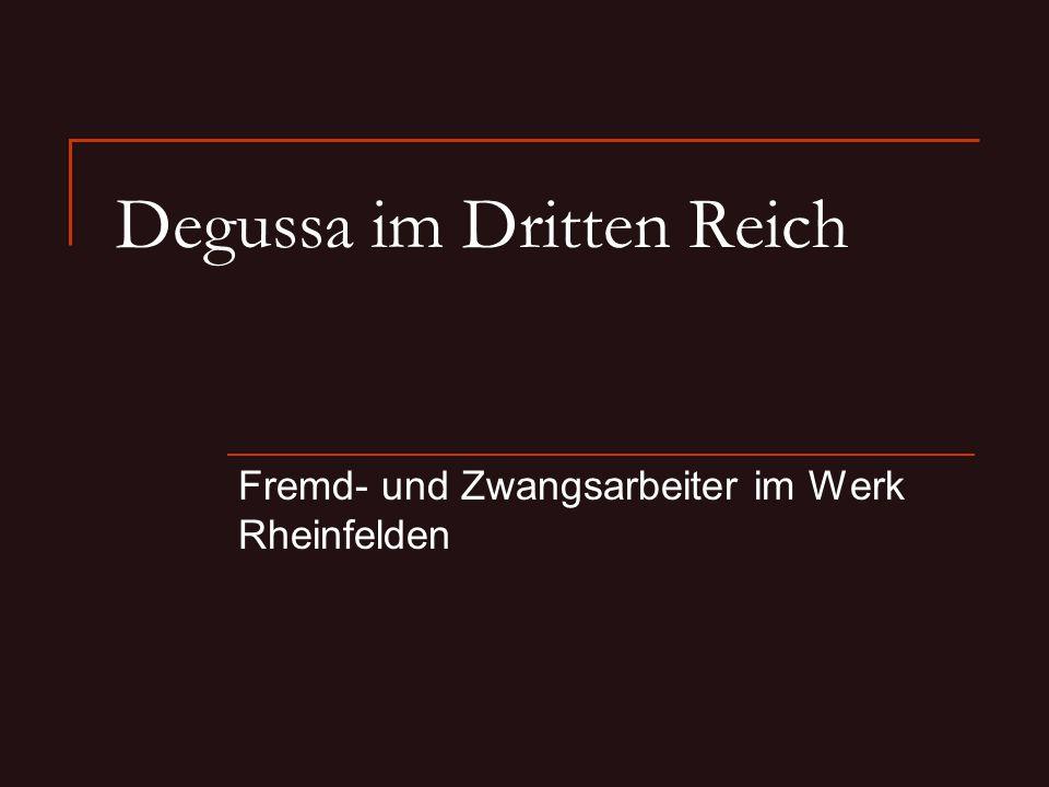 Degussa im Dritten Reich