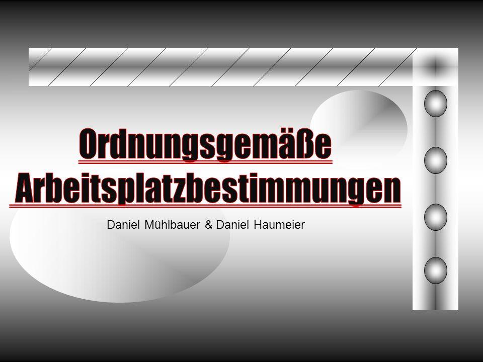 Daniel Mühlbauer & Daniel Haumeier