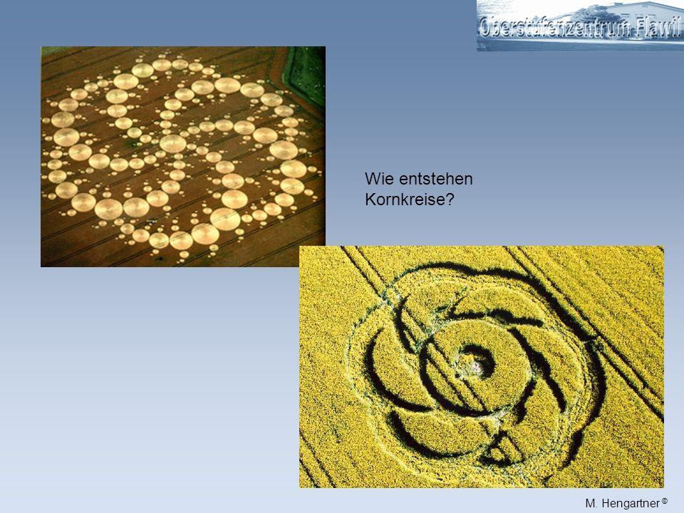 Wie entstehen Kornkreise
