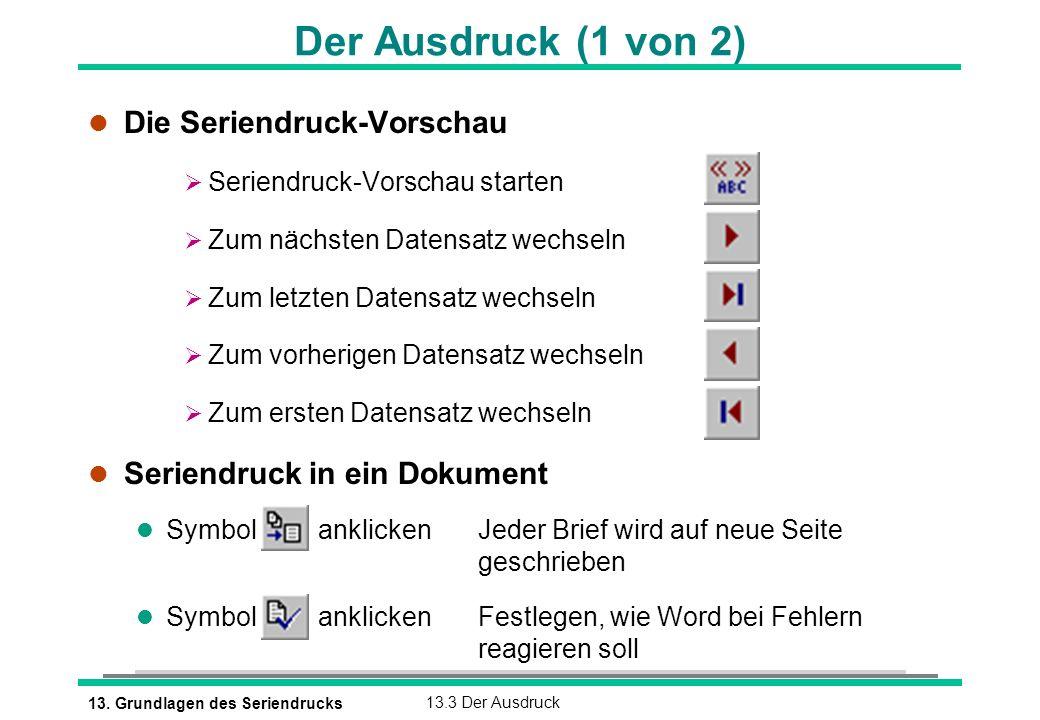 13. Grundlagen des Seriendrucks - ppt video online herunterladen