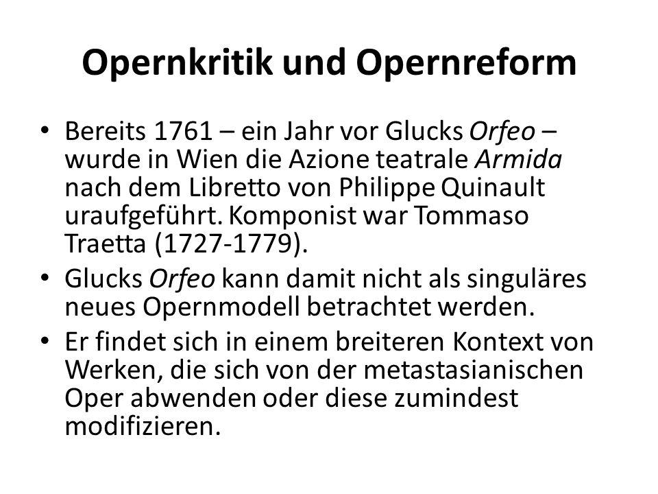 Opernkritik und Opernreform