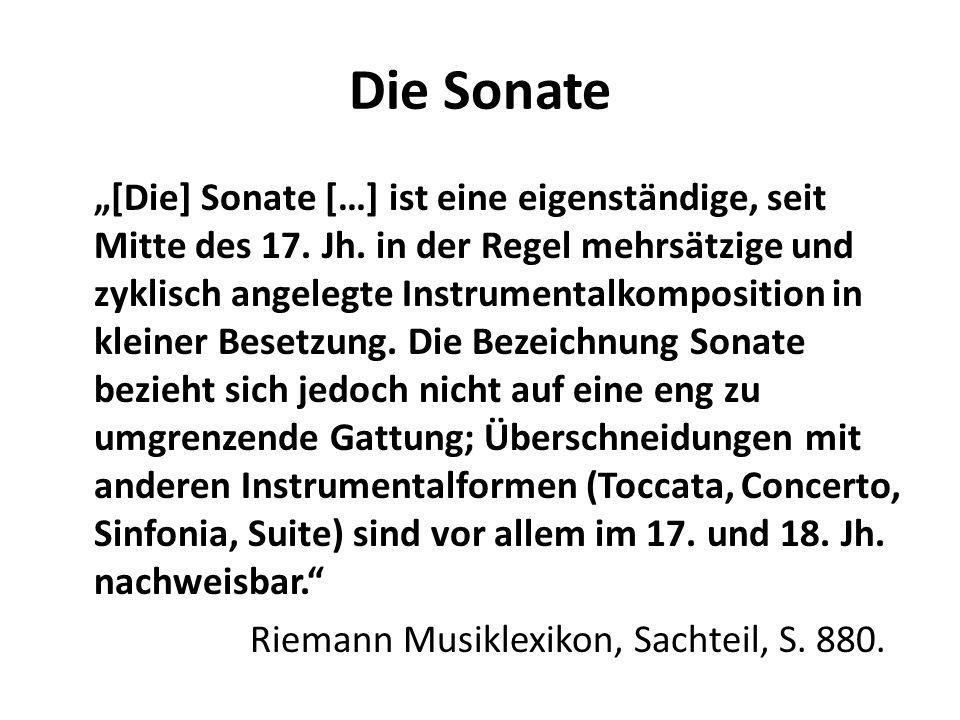 Die Sonate