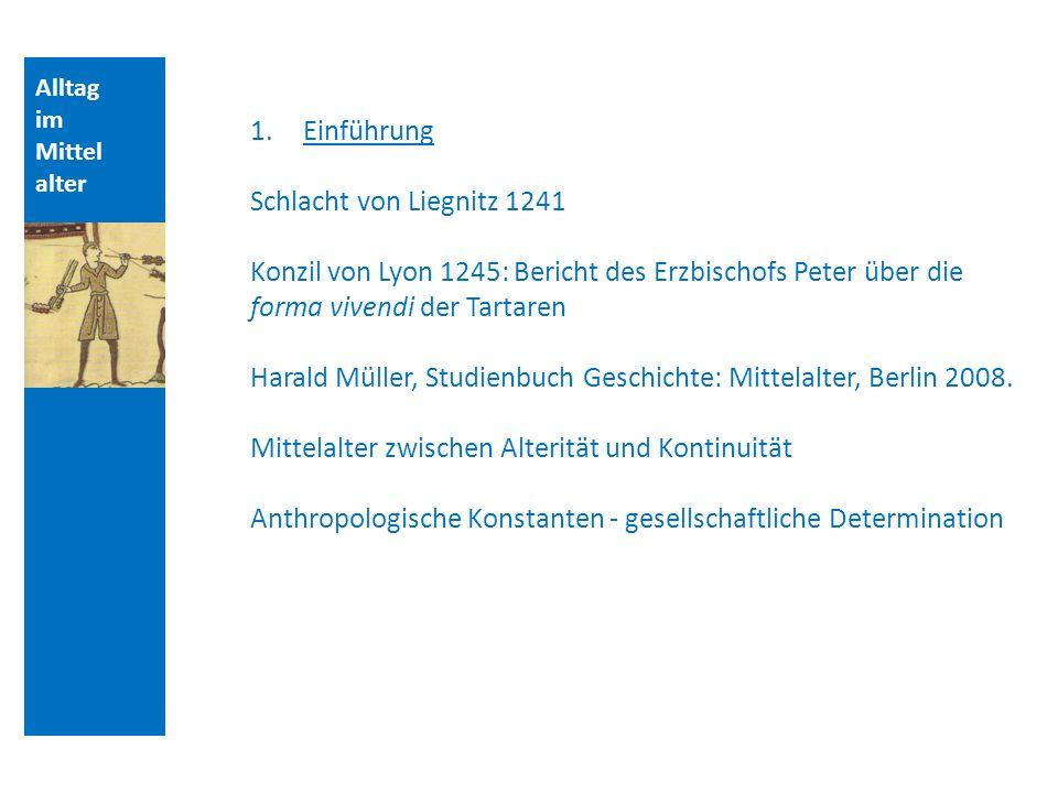 Harald Müller, Studienbuch Geschichte: Mittelalter, Berlin 2008.