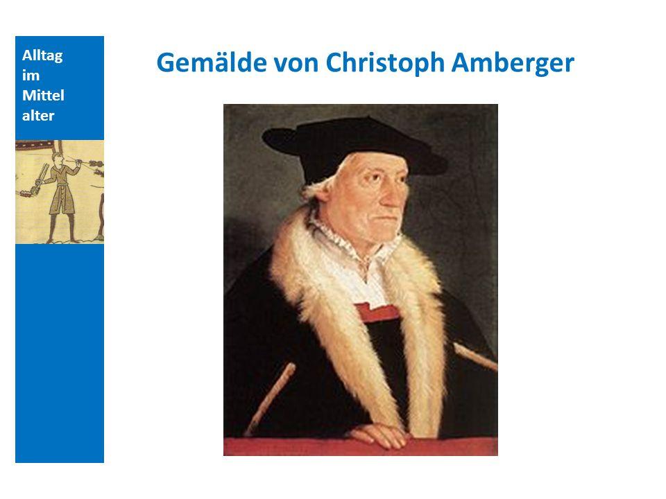 Gemälde von Christoph Amberger