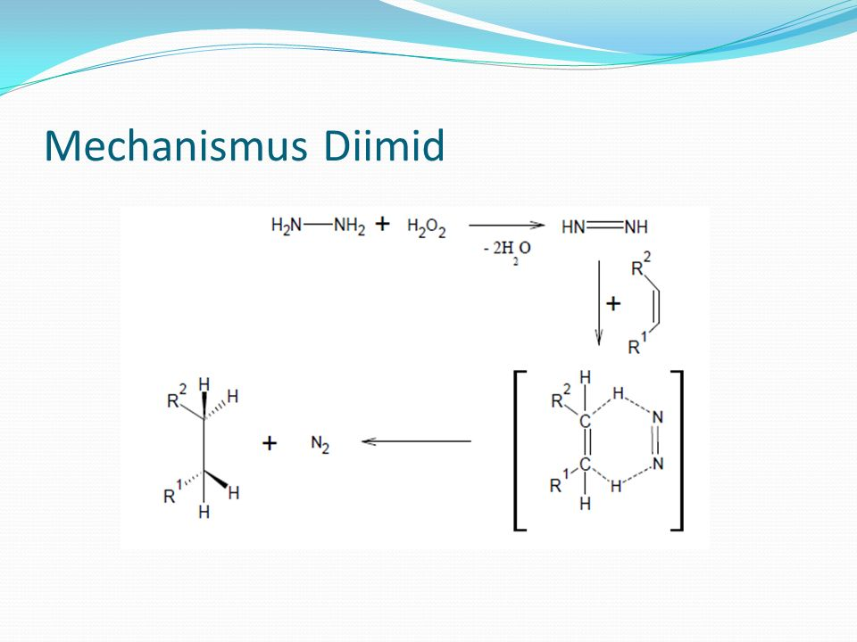 Mechanismus Diimid