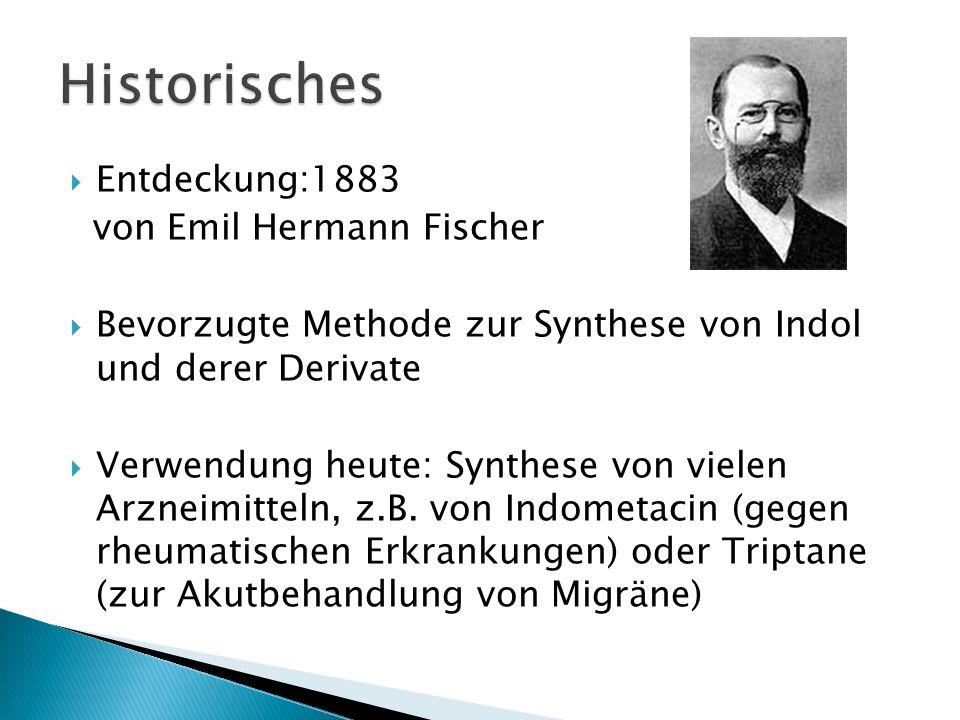 Historisches Entdeckung:1883 von Emil Hermann Fischer