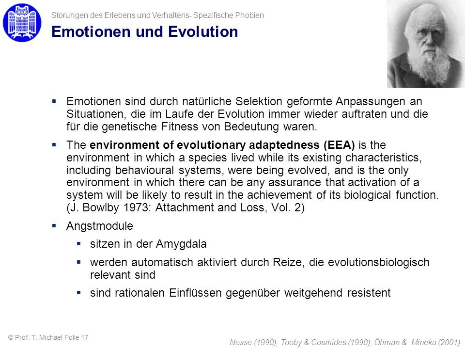Emotionen und Evolution