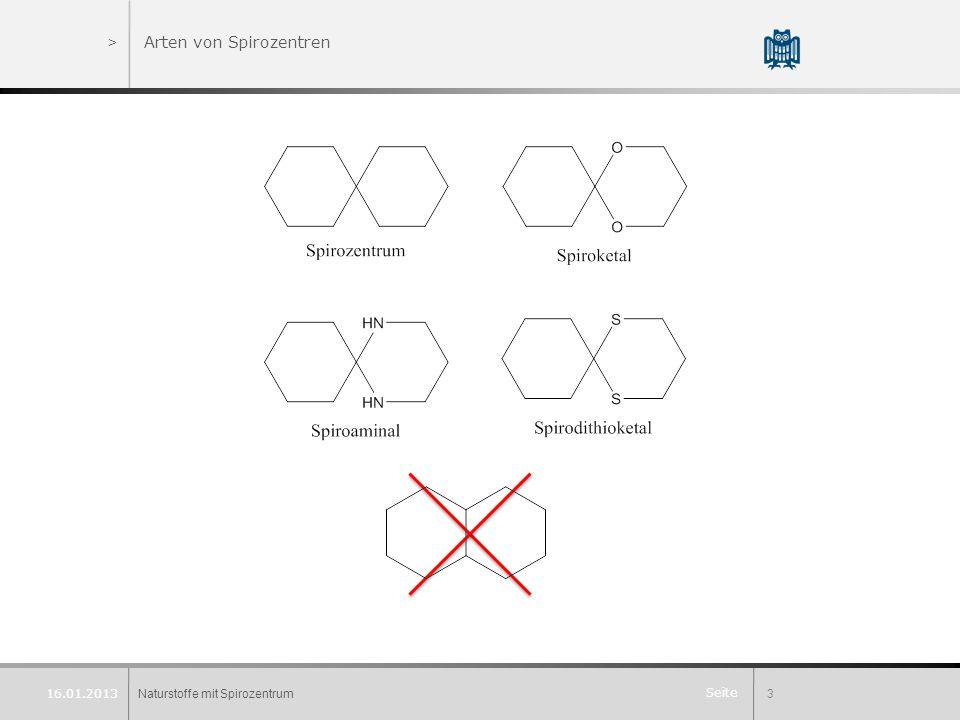 Arten von Spirozentren