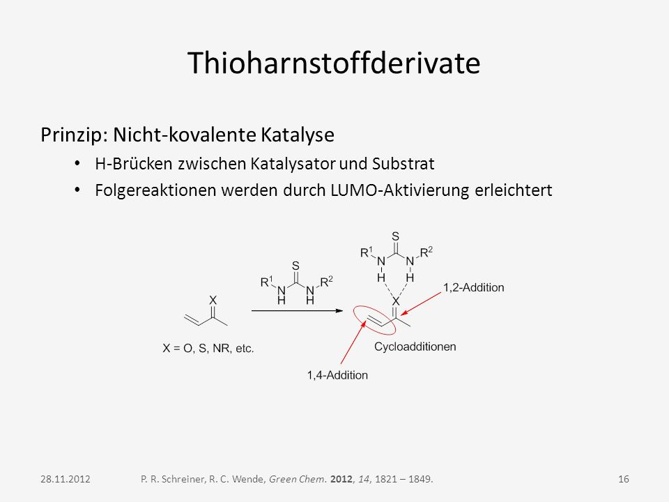 Thioharnstoffderivate
