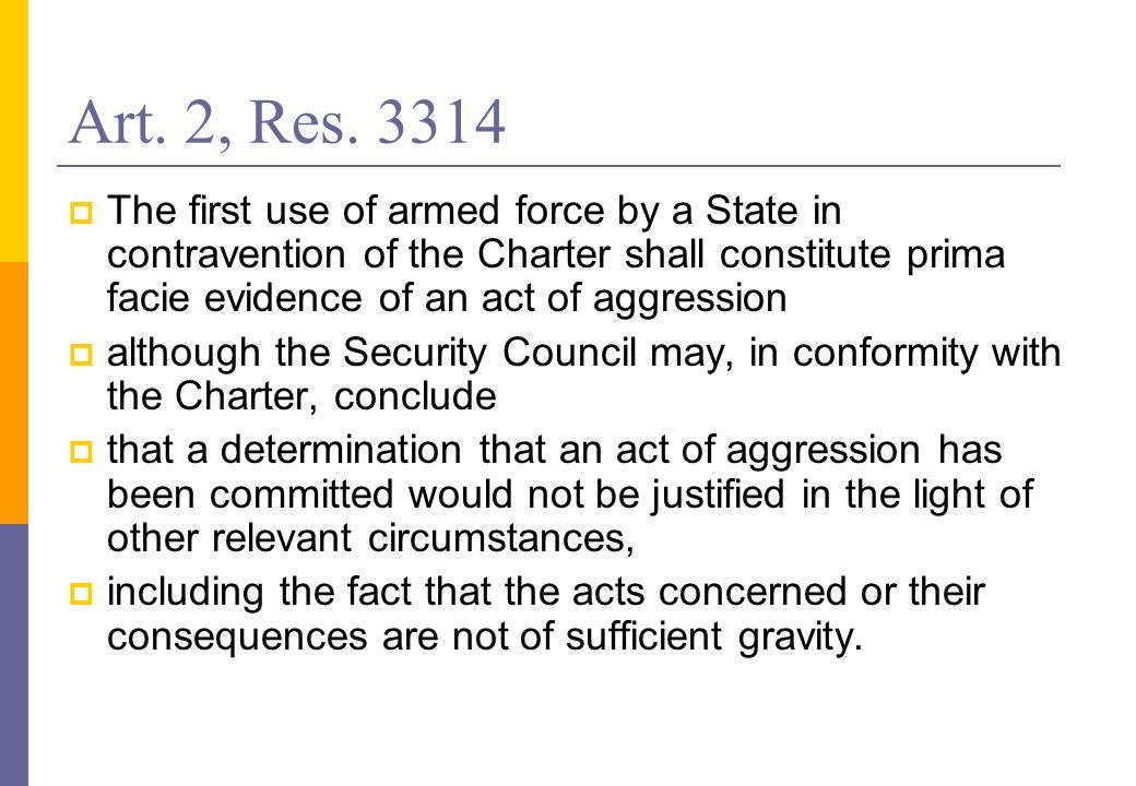Art. 2, Res. 3314