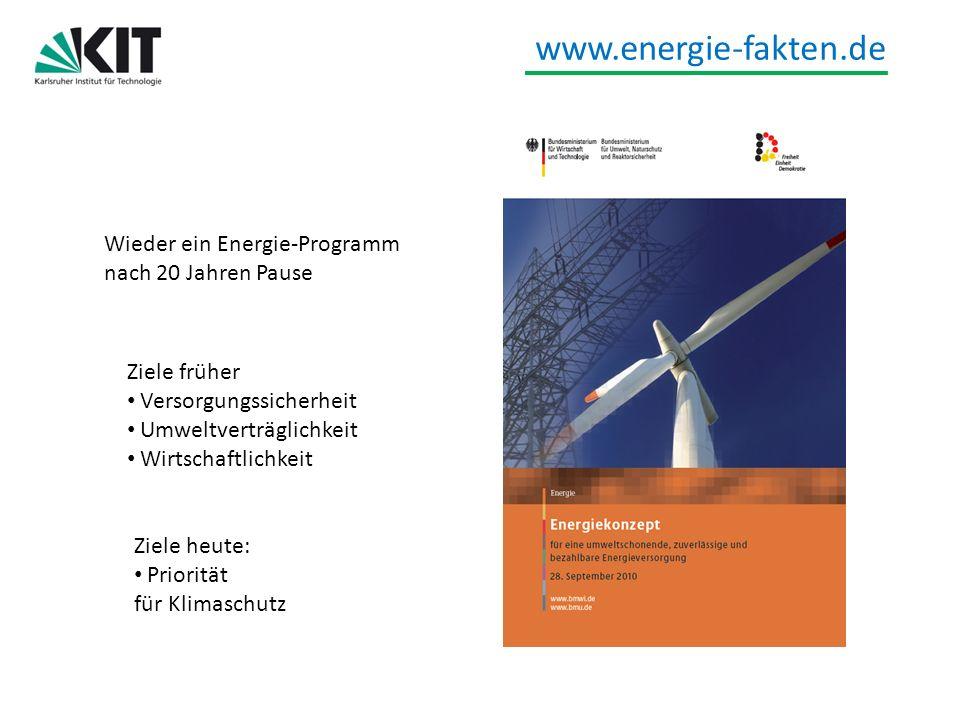 Wieder ein Energie-Programm