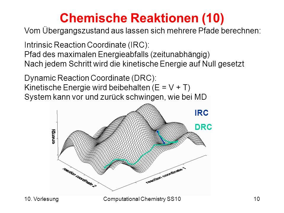 Chemische Reaktionen (10)