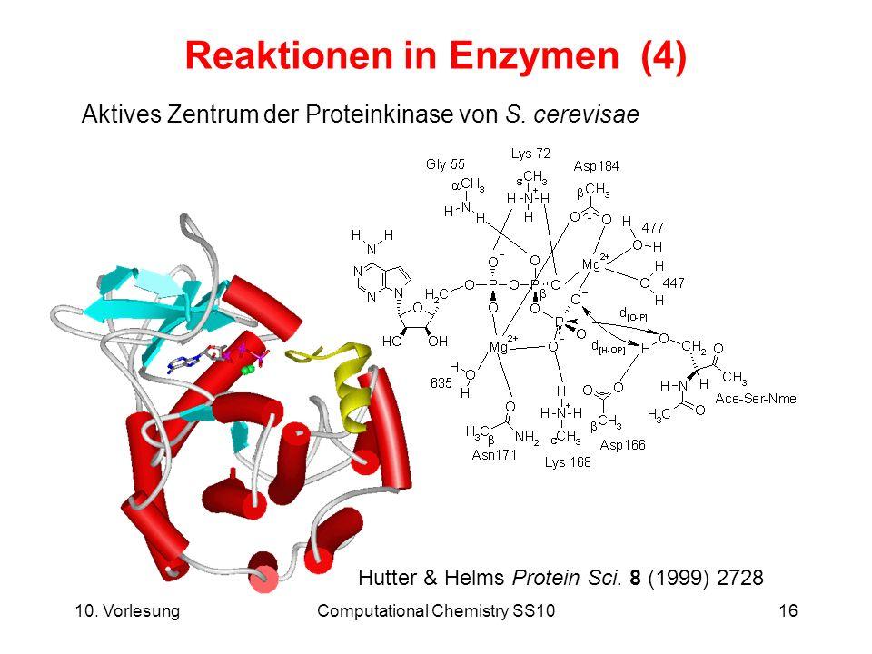 Reaktionen in Enzymen (4)