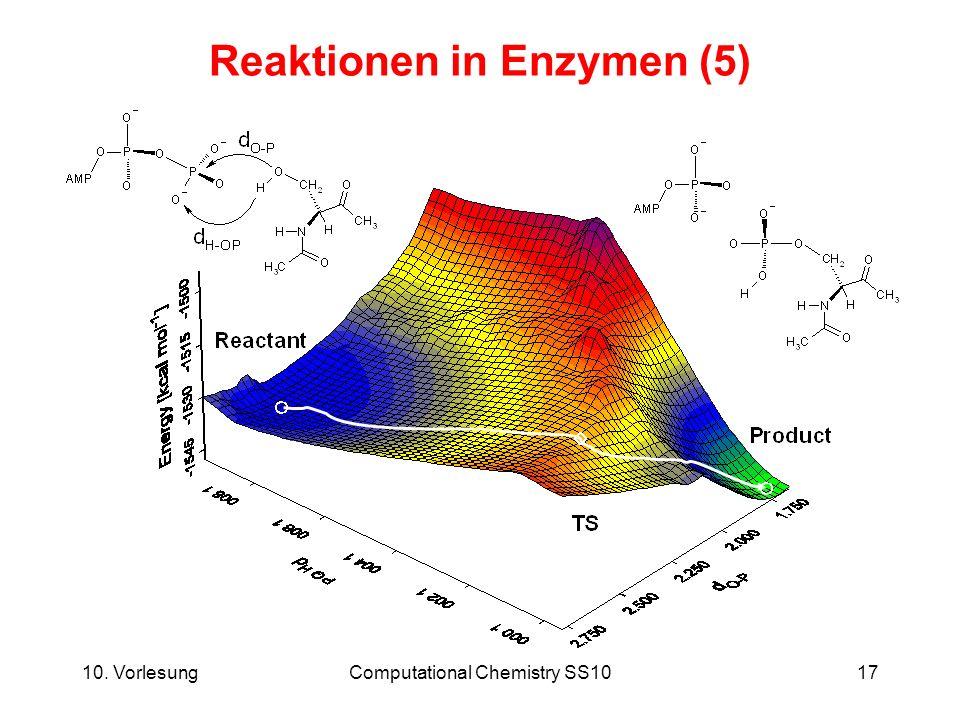 Reaktionen in Enzymen (5)