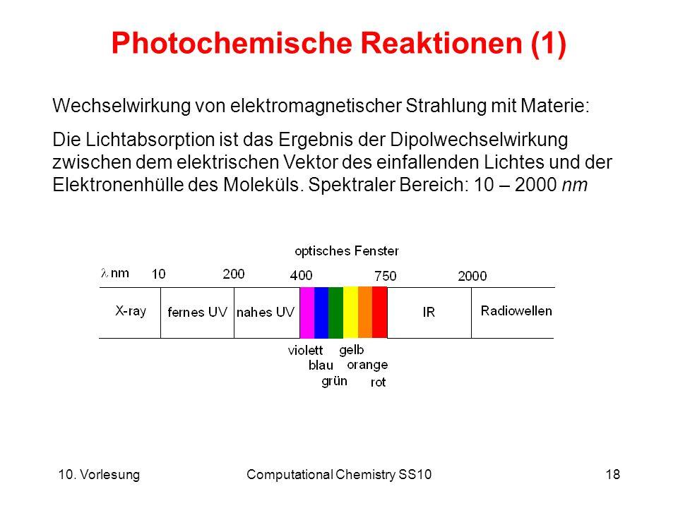 Photochemische Reaktionen (1)