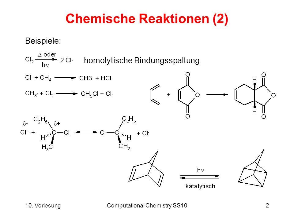 Chemische Reaktionen (2)