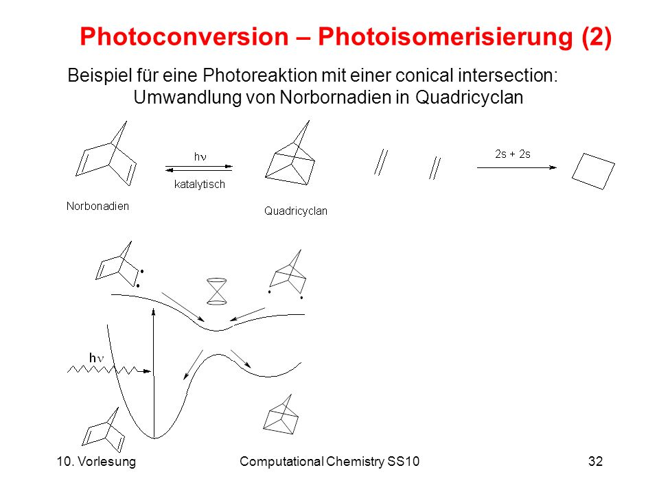 Photoconversion – Photoisomerisierung (2)
