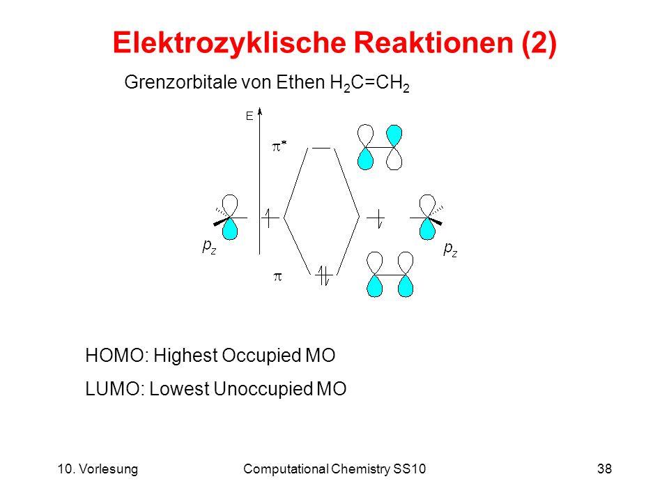 Elektrozyklische Reaktionen (2)