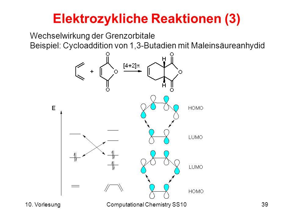 Elektrozykliche Reaktionen (3)