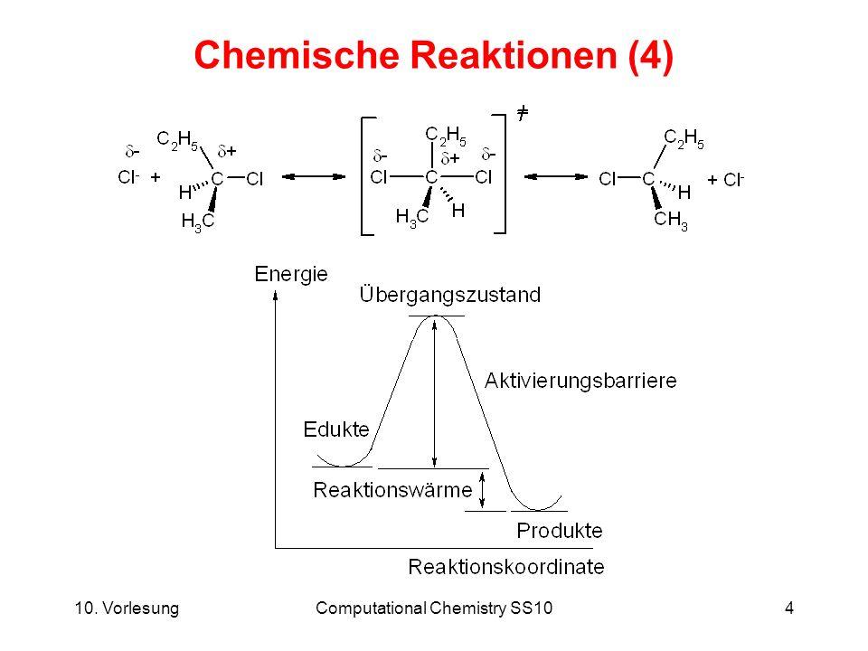 Chemische Reaktionen (4)