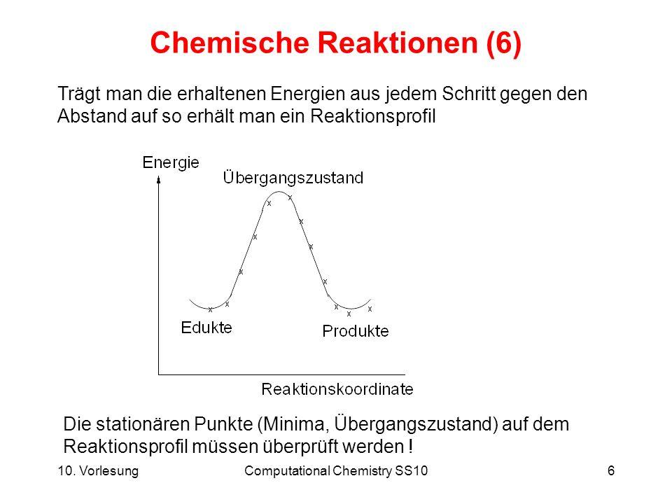 Chemische Reaktionen (6)