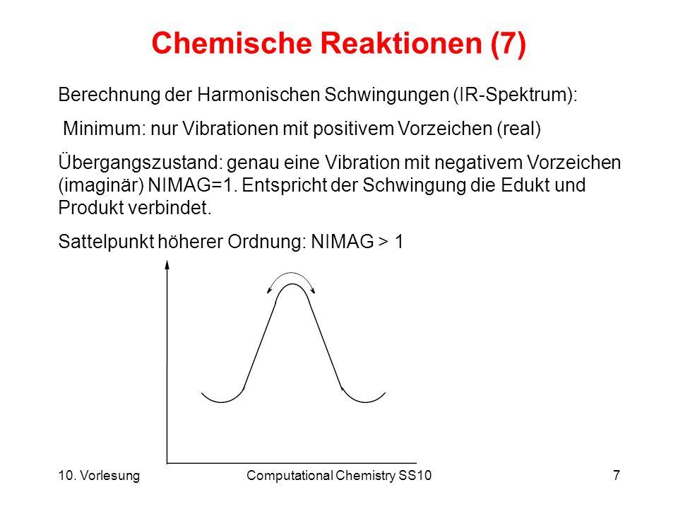 Chemische Reaktionen (7)