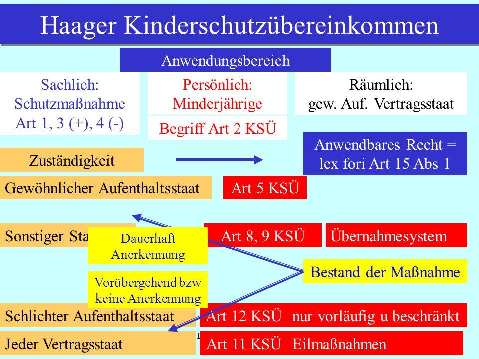 Haager Kinderschutzübereinkommen