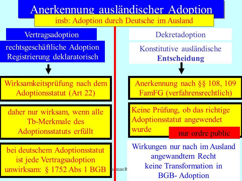 Anerkennung ausländischer Adoption