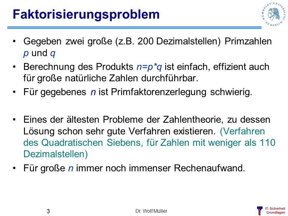 Faktorisierungsproblem