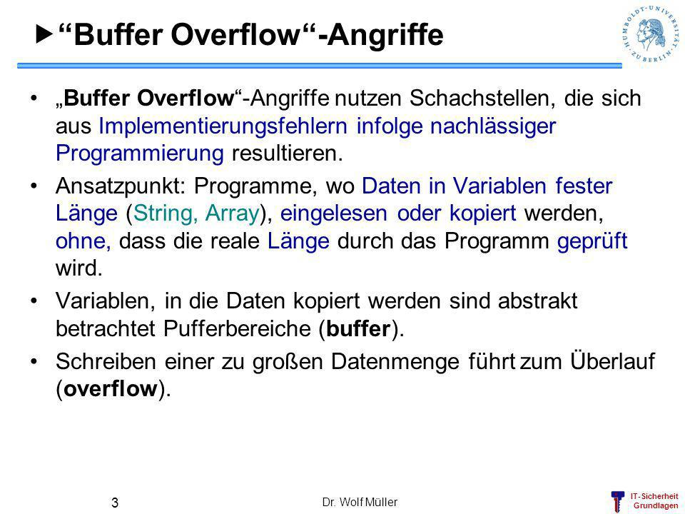  Buffer Overflow -Angriffe