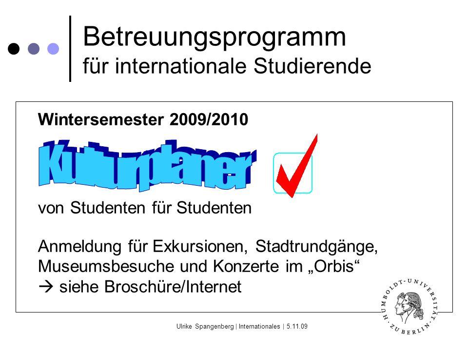 Betreuungsprogramm für internationale Studierende