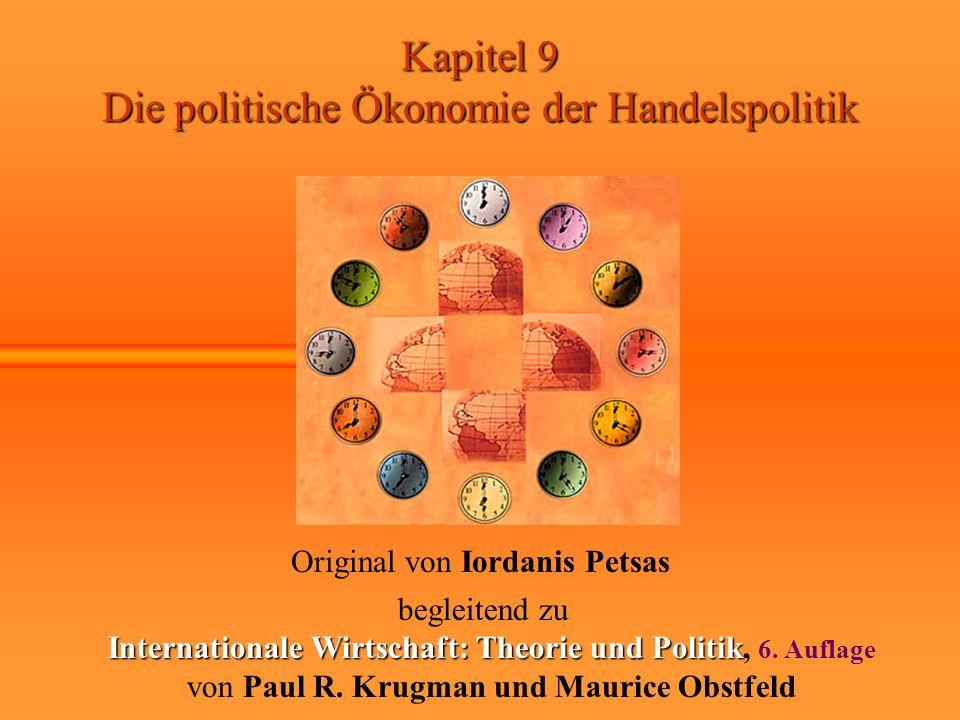 Internationale Wirtschaft: Theorie und Politik, 6. Auflage