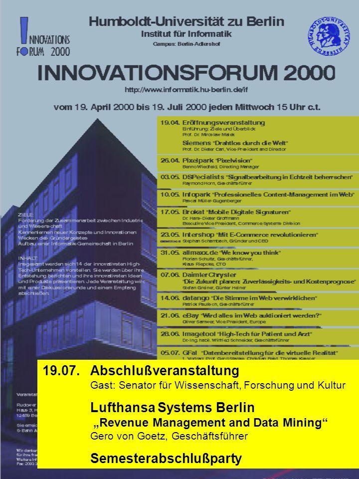19.07. Abschlußveranstaltung Lufthansa Systems Berlin