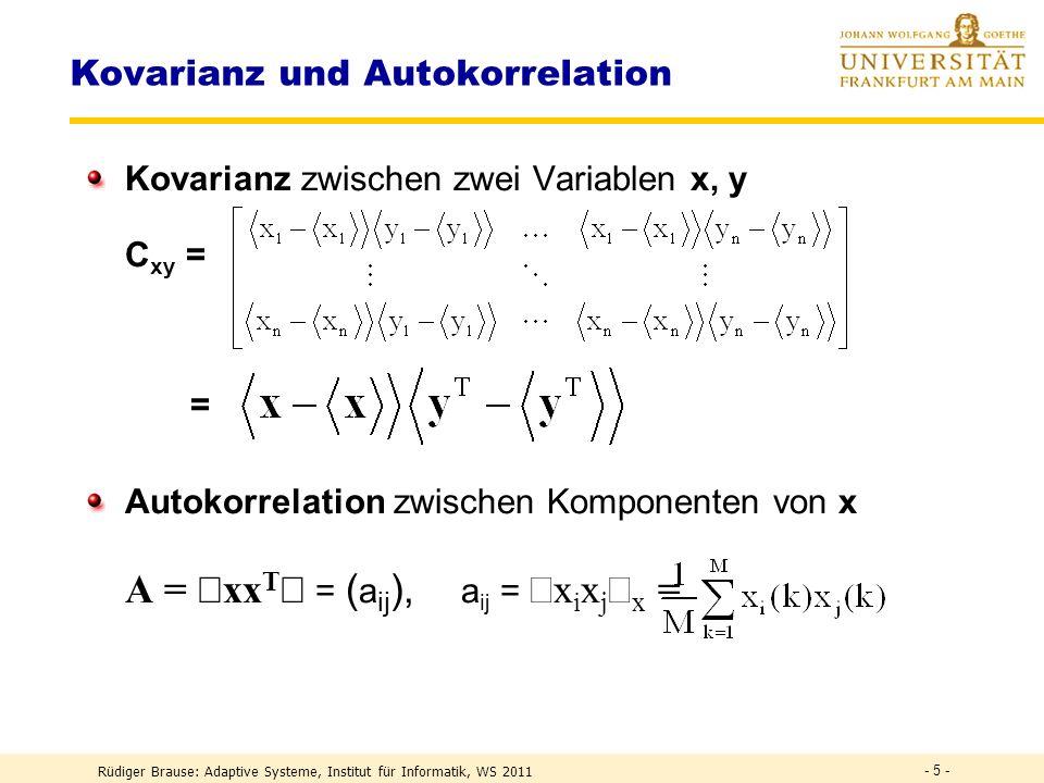 Kovarianz und Autokorrelation